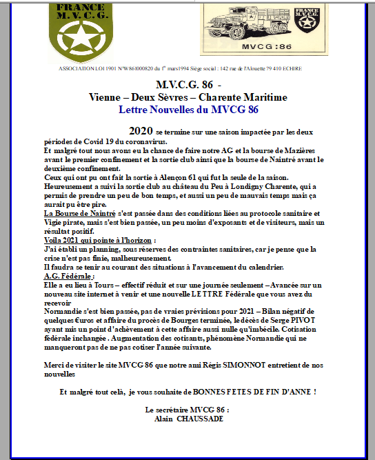 Lettre mvcg 86 2020